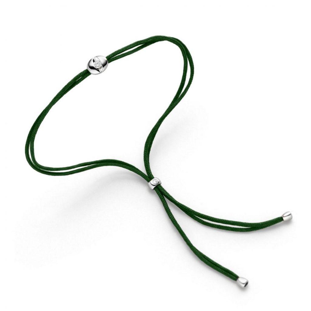 colortaire emerald Schaffrath bracelet Armband
