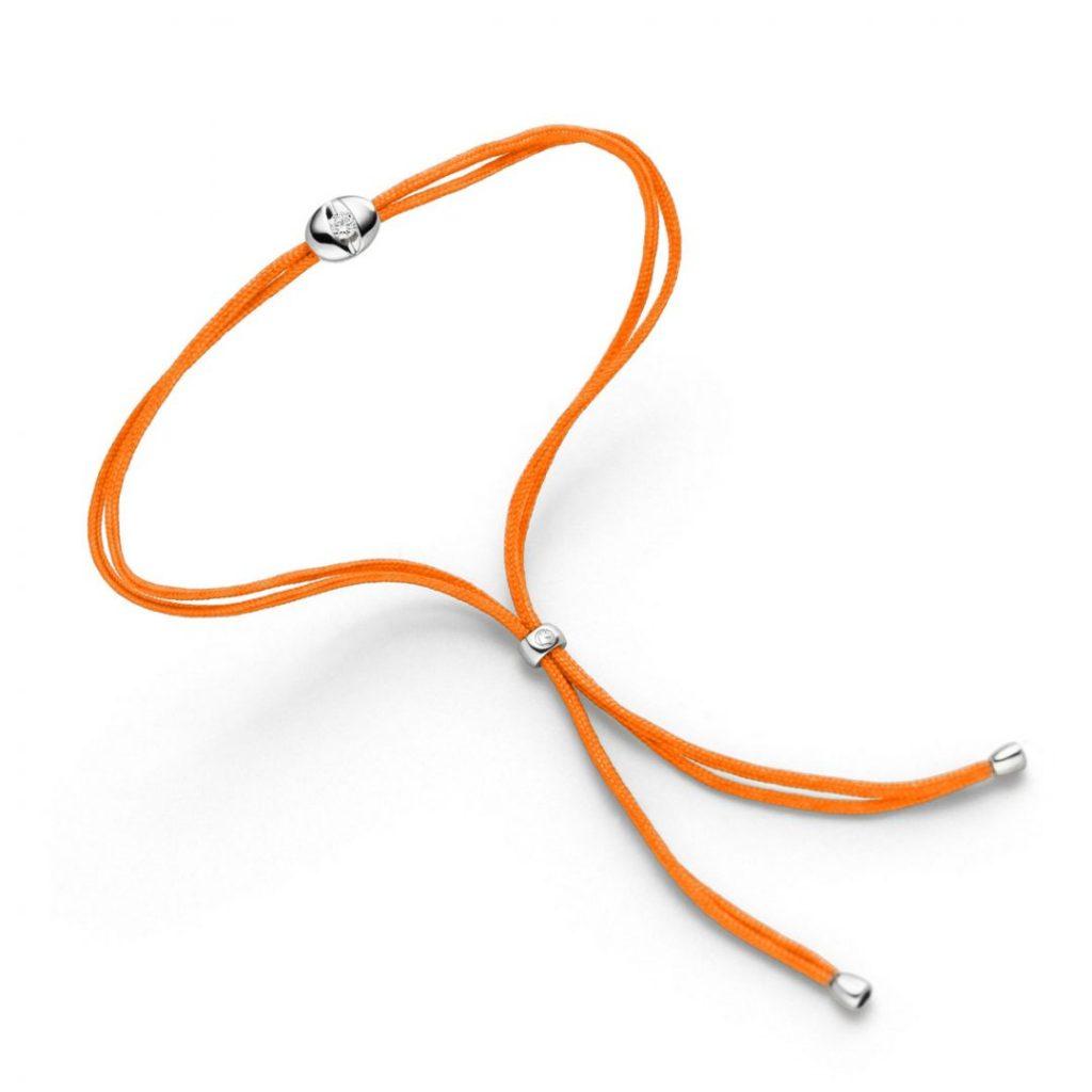 colortaire orange Schaffrath bracelet Armband